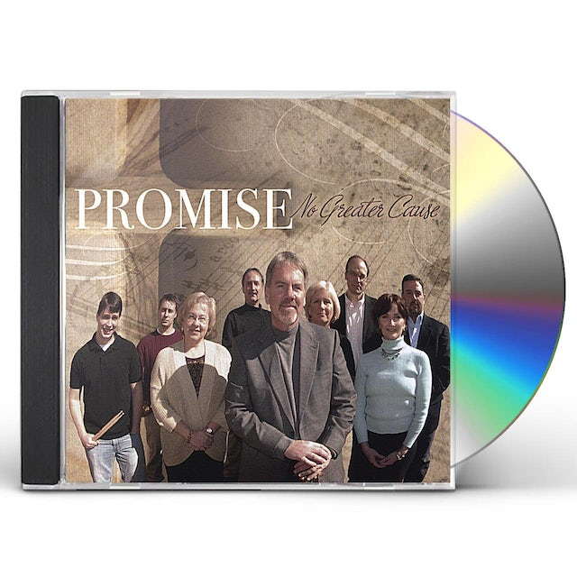 Promise NO GREATER CAUSE CD
