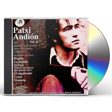 Patxi Andion VOL 4: SUS GRANDES CANCIONES PARA MOVIEPLAY CD