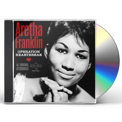 Aretha Franklin   OPERATION HEARTBREAK: COMPLETE 1956-1962 SINGLES CD