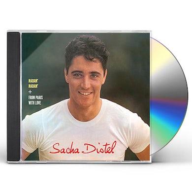 Sacha Distel MADAM MADAM / FROM PARIS WITH LOVE CD