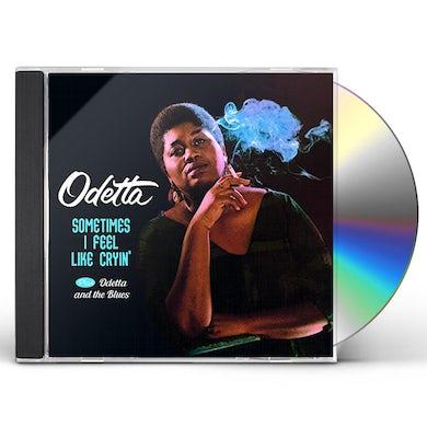 SOMETIMES I FEEL LIKE CRYIN / ODETTA & THE BLUES CD