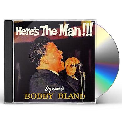 Bobby Bland HERE'S THE MAN + 10 BONUS TRACKS CD