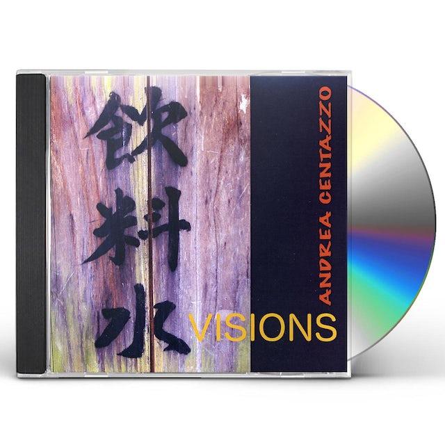 Andrea Centazzo VISIONS CD