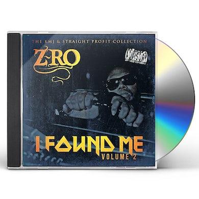 Z-Ro FOUND ME 2 CD