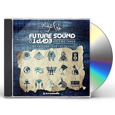 Aly & Fila FUTURE SOUND OF EGYPT VOL. 3 CD