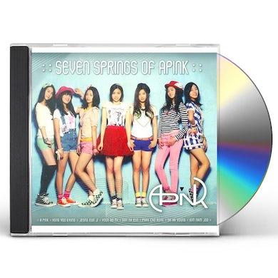 SEVEN SPRINGS OF APINK (MINI ALBUM VOL 1) CD