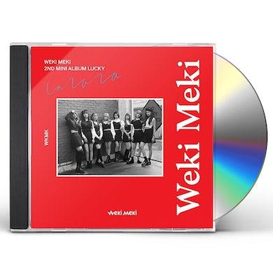 Weki Meki LUCKY (WEKI VERSION) CD