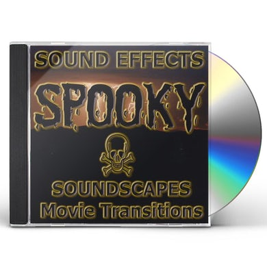 Sound Effects SPOOKY SOUNDSCAPESMOVIE BACKGROUND WHOOSHTRANSITIO CD