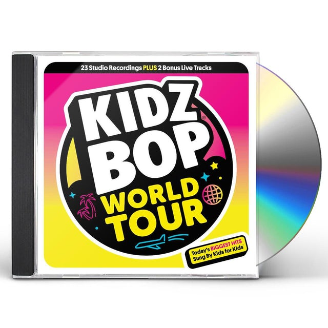 Kidz Bop WORLD TOUR CD