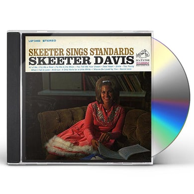 Skeeter Davis SKEETER SINGS STANDARDS CD