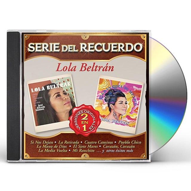 Lola Beltran SERIE DEL RECUERDO CD