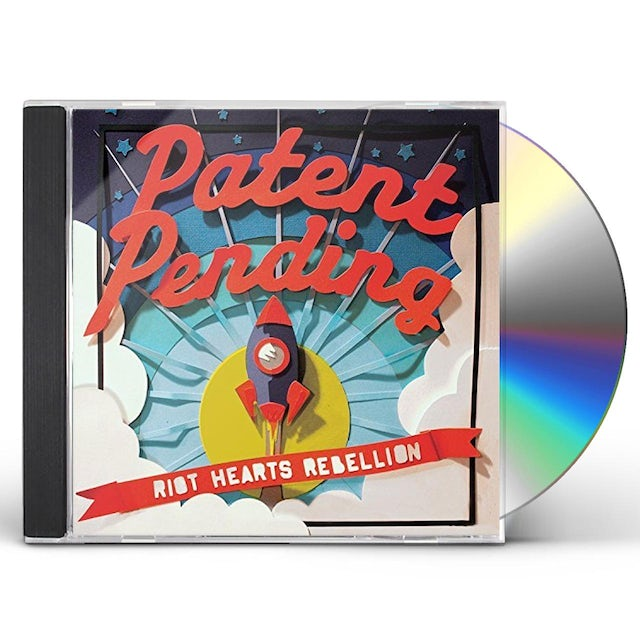 Patent Pending RIOT HEARTS REBELLION CD