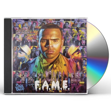 Chris Brown F.A.M.E. CD