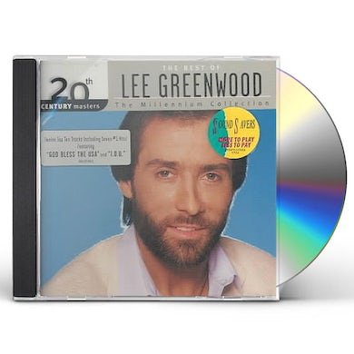 Lee Greenwood 20TH CENTURY MASTERS: MILLENNIUM COLLECTION CD