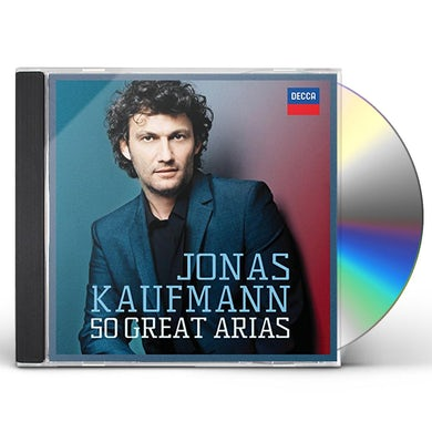 Jonas Kaufmann 50 GREAT ARIAS CD