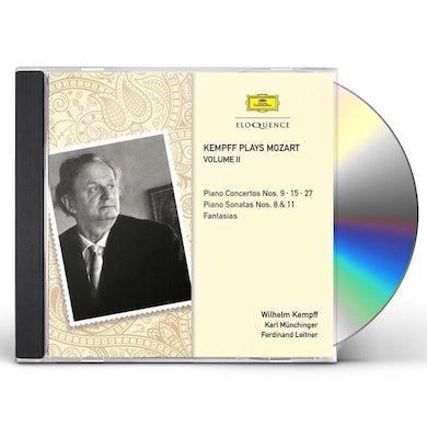 Wilhelm Kempff KAMPFF PLAYS MOZART 2 CD
