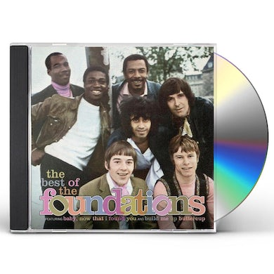 VERY BEST OF THE FOUNDATIONS CD