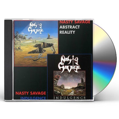 Nasty Savage INDULGENCE / ABSTRACT REALITY CD