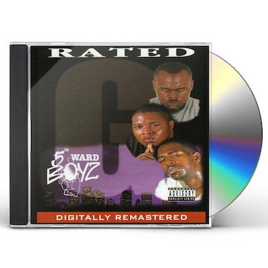 5th Ward Boyz RATED G CD