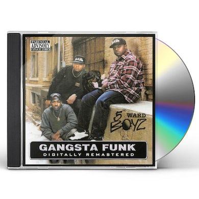 5th Ward Boyz GANGSTA FUNK CD