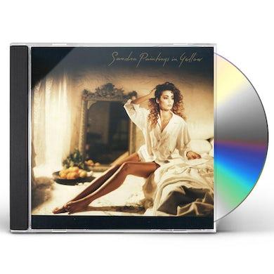 Sandra PAINTINGS IN YELLOW CD