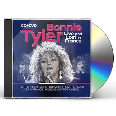Bonnie Tyler Live & Lost In France CD