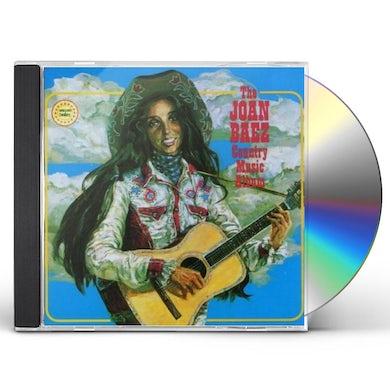 Joan Baez COUNTRY MUSIC ALBUM CD