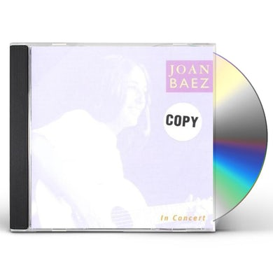 Joan Baez IN CONCERT CD