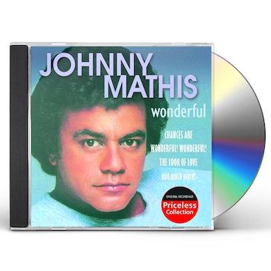 Johnny Mathis WONDERFUL CD