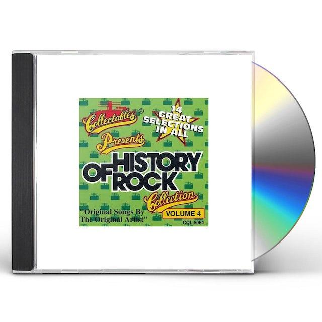 History Of Rock 4 / Various CD