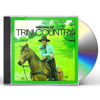 Trini Lopez WELCOME TO TRINI COUNTRY CD