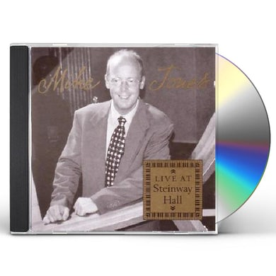 Mike Jones LIVE AT STEINWAY HALL CD