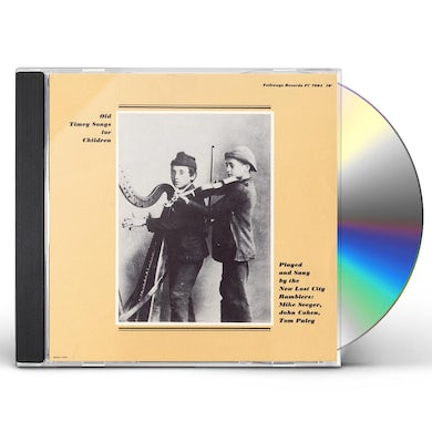 New Lost City Ramblers OLD TIMEY SONGS FOR CHILDREN CD