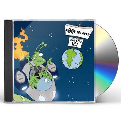 Exterio VOUS ETES ICI !!! CD
