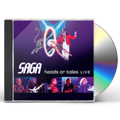 Saga HEADS OR TAILS CD