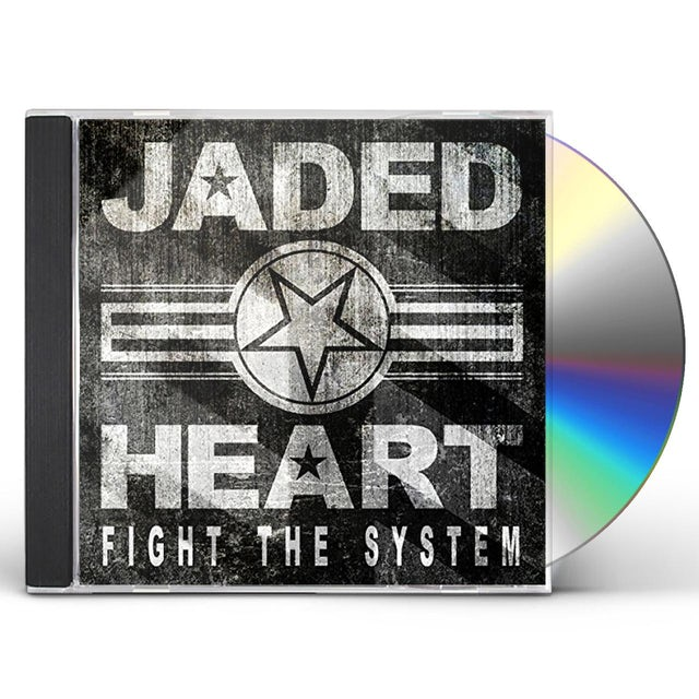 Jaded Heart FIGHT THE SYSTEM: LIMITED EDITION CD