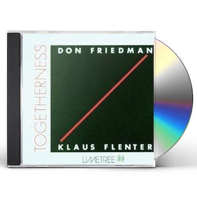 Don Friedman TOGETHERNESS: LIMITED CD