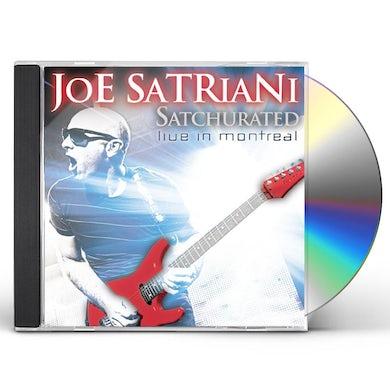 Joe Satriani SATCHURATED: LIVE IN MONTREAL CD