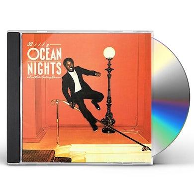 Billy Ocean NIGHTS (FEEL LIKE GETTING DOWN) CD