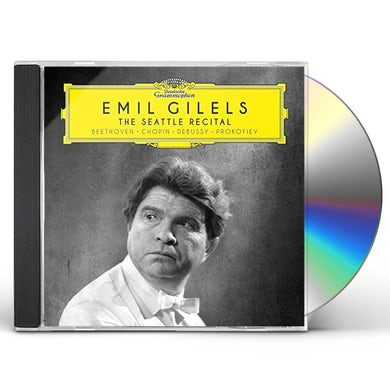 Emil Gilels 1964 SEATTLE RECITAL CD