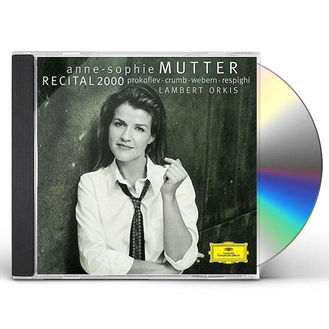 Anne-Sophie Mutter RECITAL 2000 CD