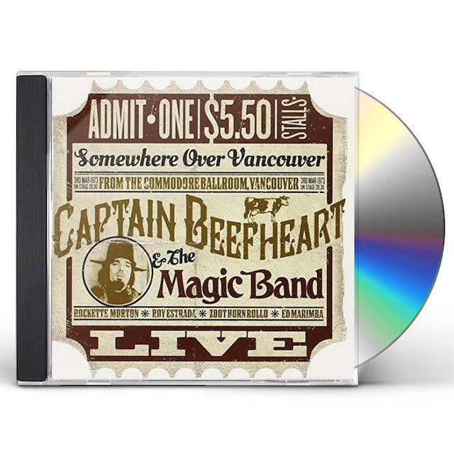 Captain Beefheart & His Magic Band COMMODORE BALLROOM VANCOUVER 1973 CD
