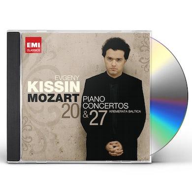 Evgeny Kissin MOZART: PIANO CONCERTOS 20 & 27 CD