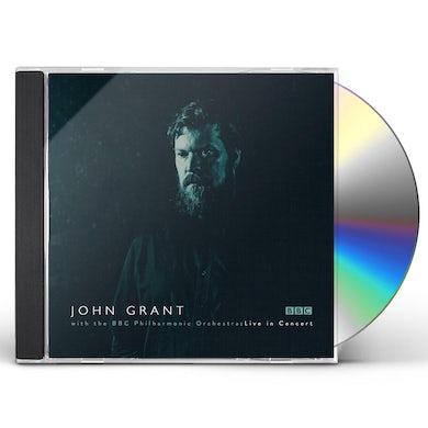 JOHN GRANT & BBC PHILHARMONIC ORCHESTRA CD