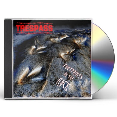 Trespass FOOTPRINTS IN THE ROCK CD