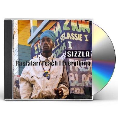 Sizzla RASTAFARI TEACH I EVERYTHING CD