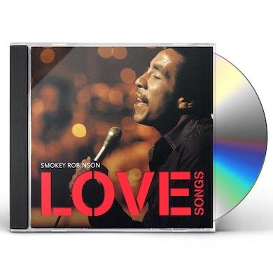 Smokey Robinson LOVE SONGS CD