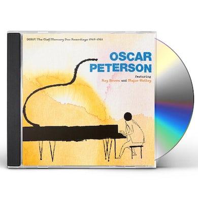 Oscar Peterson DEBUT: THE CLEF/MERCURY DUO RECORDINGS 1949-1951 CD