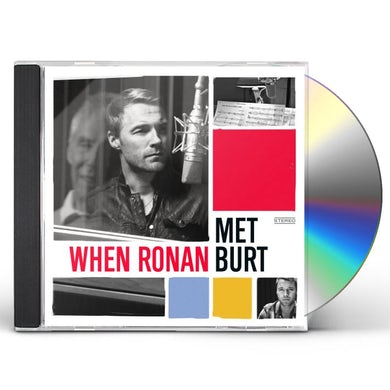 Ronan Keating WHEN RONAN MET BURT CD