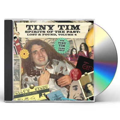 Tiny Tim SPIRITS OF THE PAST LOST & FOUND VOL. 4 CD